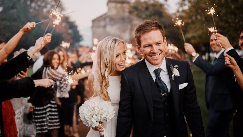 इंग्लंड कर्णधार इयॉन मॉर्गन अडकला विवाहबंधनात