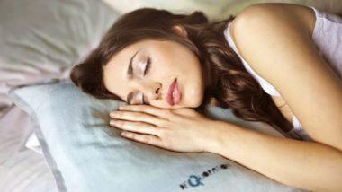 गाढ झोप घेतल्यास 30 टक्के तणाव होईल दूर - संशोधन