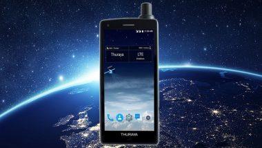 सॅटेलाइटशी कनेक्टेड राहणारा जगातील पहिला फोन Thuraya X5-Touch लाँच
