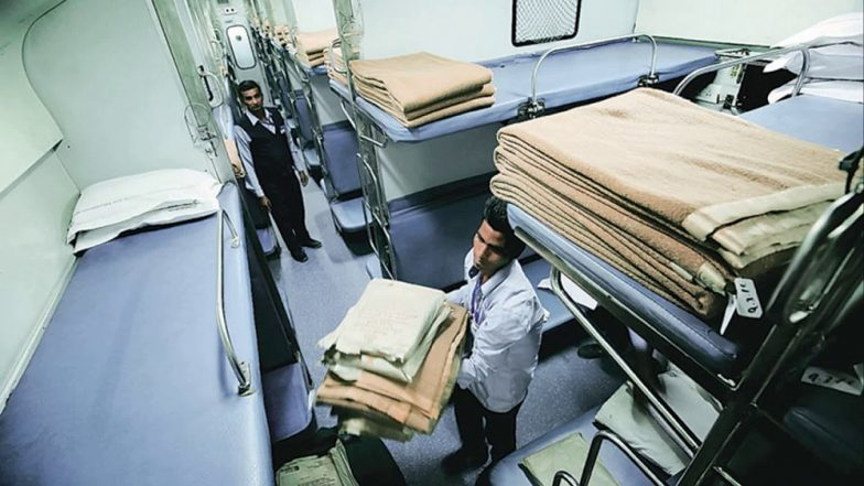 धक्कादायक : रेल्वेच्या एसी कोचमधून चादरी, ब्लँकेट, टॉवेल असे तब्बल 14 कोटींचे सामान चोरीला