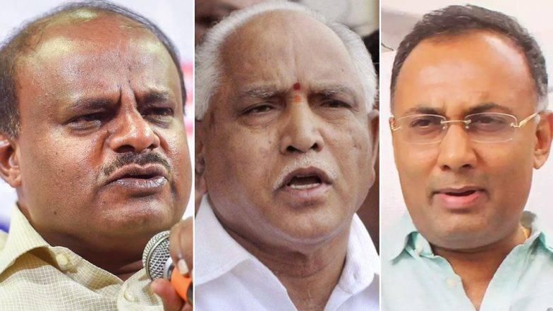 कर्नाटक पोटनिवडणूक निकाल: भाजपला धक्का, काँग्रेस, जेडीएस बहुमताने विजयी; २०१९साठी कमळ धोक्यात, हात 'अच्छे दिन'च्या तयारीत