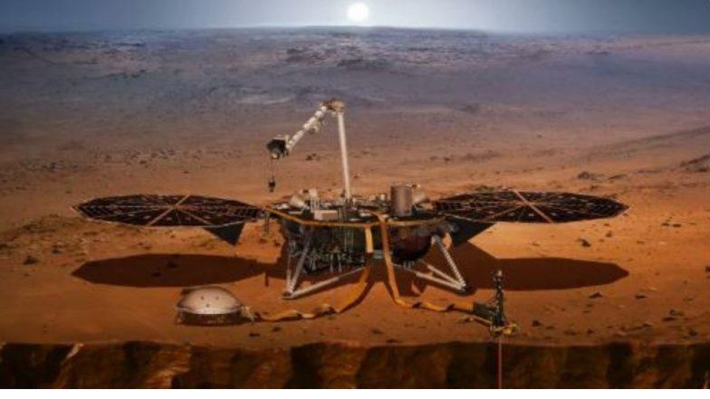 InSight च्या मदतीने नासाचं मंगळ ग्रहावर यशस्वी लॅन्डिंग