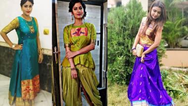 Diwali Special: पारंपारिक पैठणींचा एथनिक लूक ! 'या' अभिनेत्रींचे ड्रेस पाहून तुम्हीही पुन्हा पैठणींच्या प्रेमात पडाल