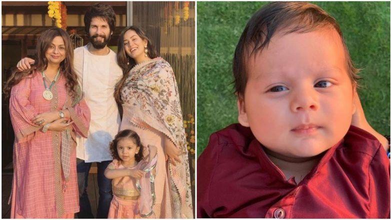 शाहिद कपूर - मीरा कपूरचा मुलगा Zain Kapoor ची पहिली झलक सोशल मीडीयावर व्हायरल