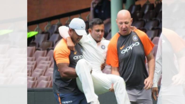 India VS Australia Test Series: पृथ्वी शॉ ला दुखापत; कसोटी मालिकेपूर्वीच भारताला धक्का