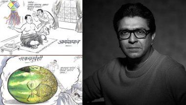 नरक चतुर्दशी : राज ठाकरे यांची देवेंद्र फडणवीस आणि अमित शहांवर व्यंगचित्रातून टीका