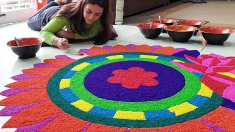 Diwali 2018 : सहज सोप्या दिवाळी रांगोळ्यांसाठी मदत करतील ही  '4' टॉप अॅप्स