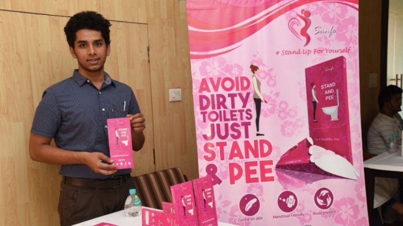 IIT-Delhi च्या विद्यार्थ्यांनी महिलांसाठी बनवले खास  'Stand And Pee' Device, पहा काय आहे किंमत आणि खास वैशिष्ट्य