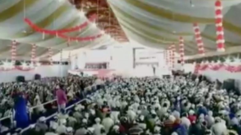 Guru Nanak Jayanti 2018 : उल्हासनगरमध्ये रंगतोय 20 हजार भाविकांच्या उपस्थितीत केवळ 'हेडफोन्स'वर सत्संग सोहळा