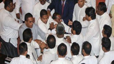 खासदारांनी एकमेकांना चोपले, संसदेत राडा