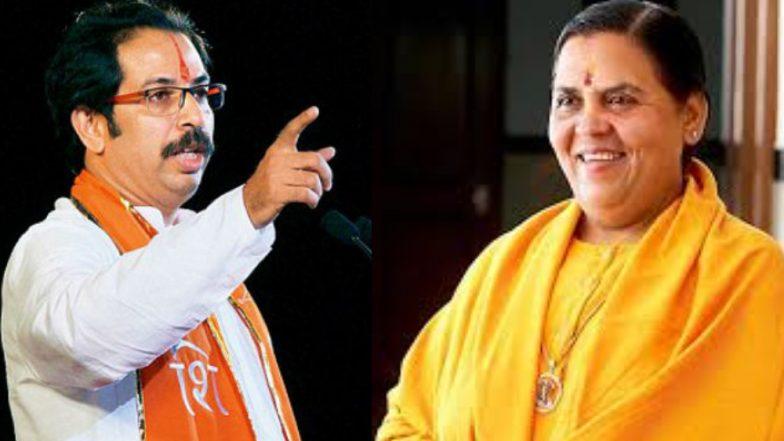केंद्रीय मंत्री उमा भारती यांच्याकडून शिवसेनेचे कौतुक म्हणाल्या 'राम मंदिर हे केवळ भाजपचेच पेटंट नाही'
