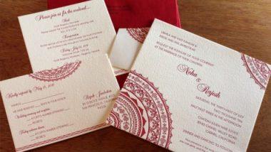 Wedding Invitation Card: लग्नाच्या कार्डमधील चुका टाळण्यासाठी 'या' टीप्स