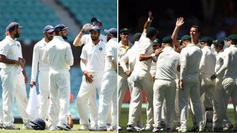 India vs Australia, 1st Test:भारताची पडझड, आर्धा संघ तंबूत परतला