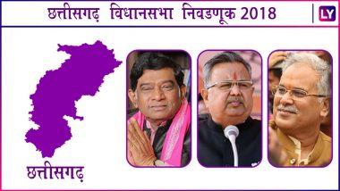 Chhattisgarh Assembly Elections 2018 Exit Poll: छत्तीसगढमध्ये India TV च्या सर्वेनुसार चौथ्यांदा भाजपचे सरकार येण्याची शक्यता
