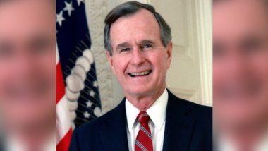 अमेरिकेचे माजी राष्ट्राध्यक्ष  George Herbert Walker Bush यांचे अमेरिकेमध्ये निधन