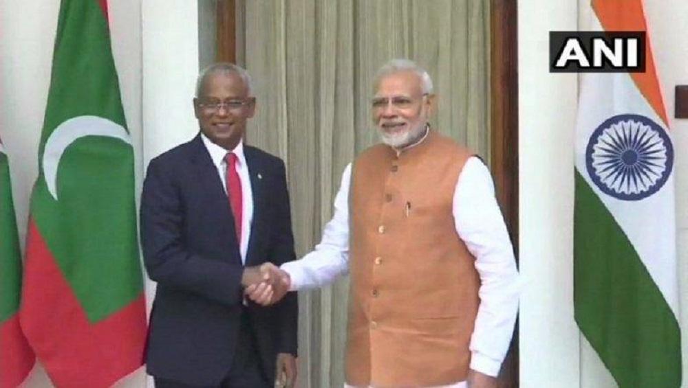 राष्ट्राध्यक्ष इब्राहिम मोहम्मद-नरेंद्र मोदी भेट; चर्चेनंतर मालदीवला 1.4 अब्ज डॉलरची मदत जाहीर