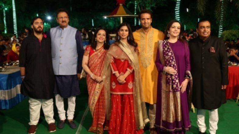 Isha Anand Wedding: 'ईशा-आनंद' च्या विवाहसोहळ्यात Mukesh Ambani झाले भावूक (Video)