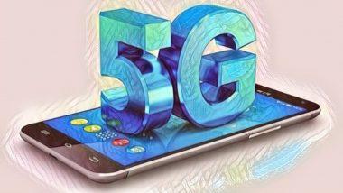 5G Connection in India: 2021 पर्यंत भारताला मिळू शकेल पहिले 5 जी नेटवर्क; 2026 पर्यंत असतील 35 कोटी युजर्स- Report