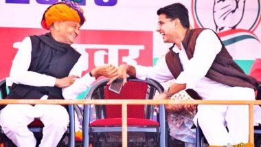 अशोक गेहलोत राजस्थानचे नवे मुख्यमंत्री, सचिन पायलट उपमुख्यमंत्री