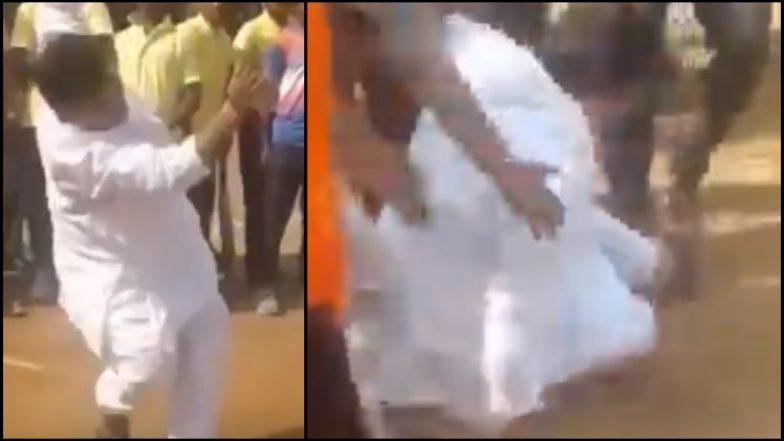 Video: भाजप आमदार प्रविण दरेकर मैदानावर शॉट मारायला गेले अन भूईसपाट झाले