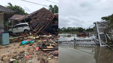 Indonesia ला पुन्हा त्सुनामीचा धोका, समुद्रकिनार्यापासून दूर राहण्याचा इशारा,त्सुनामीने  घेतले 281 लोकांचे बळी, तर 1000 हून अधिक लोकं जखमी