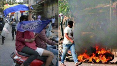 Bhima-Koregaon Violence : संभाजी भिडे, मिलिंद एकबोटे यांच्यासह 58 जणांना कोरेगाव-भिमा परिसरात बंदी