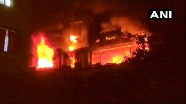 चेंबूर येथे रहिवासी इमारतीला आग; 5 जण ठार