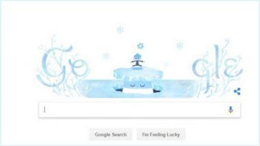 Winter solstice 2018 Google Doodle: आजपासून उत्तरायणाला सुरूवात, वर्षातली सर्वात मोठी रात्र आज!
