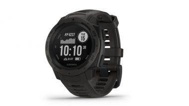 घड्याळ शौकीनांसाठी खुशखबर! Garmin Instinct स्मार्ट वॉच भारतात लॉन्च; किंमत, फिचर्स घ्या जाणून