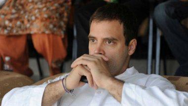 Shiv Jayanti 2019:  शिवजयंतीच्या शुभेच्छा देण्यासाठी राहुल गांधी यांचं खास मराठी भाषेतून ट्विट!