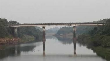 पाहा Video : काही मिनिटांतच उध्वस्त झाला शेकडो वर्षापूर्वीचा पुल