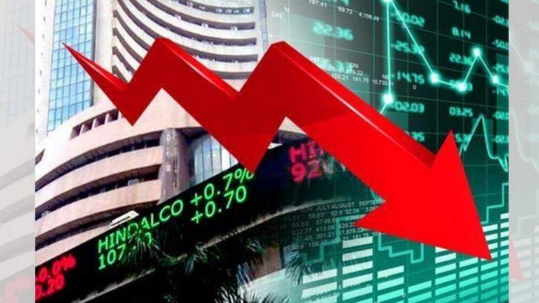 Election निकालापूर्वी Share Market मध्ये मंदी, Sensex तब्बल 572 अंकांनी कोसळला