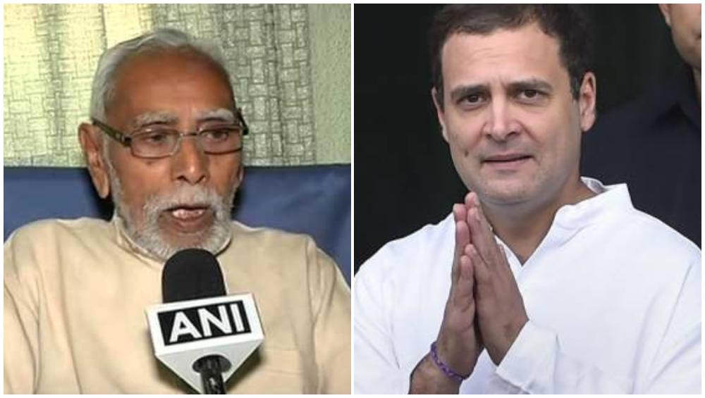 आरएसएसकडून काँग्रेसचे कौतुक; मा. गो. वौद्य म्हणाले, 'राहुल गांधी यांचे नेतृत्व सिद्ध झाले'