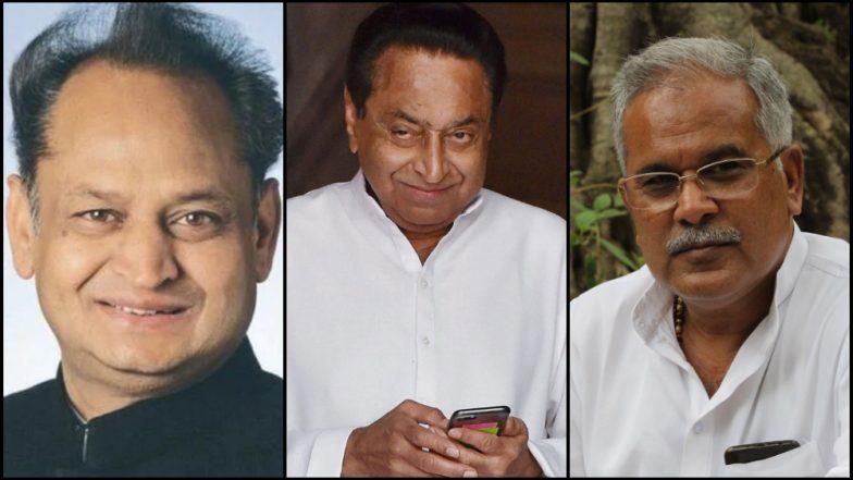 सत्तांतर झाले सत्ताग्रहणही पूर्ण; मध्य प्रदेश - कमलनाथ, राजस्थान - अशोक गेहलोत यांनी घेतली मुख्यमंत्री पदाची शपथ