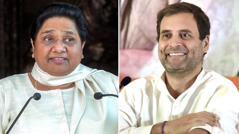 BJP च्या आशा मावळल्या; मध्यप्रदेश आणि राजस्थानमध्ये सत्तास्थापनेसाठी मायावतींनी दिला कॉंग्रेसला पाठींबा