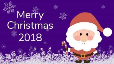 Christmas 2018: ख्रिसमसच्या शुभेच्छा देण्यासाठी खास मेसेजेस आणि Santa Claus WhatsApp stickers