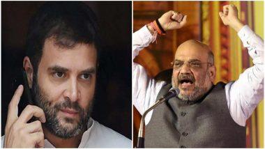 राफेल डील: अखेर सत्याचाच विजय; राहुल गांधी यांनी देशाची माफी मागवी- अमित शाह