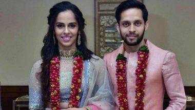 भारताची बॅटमिंटनपटू सायना नेहवाल आणि पी. कश्यप यांचा विवाह थाटामाटात संपन्न