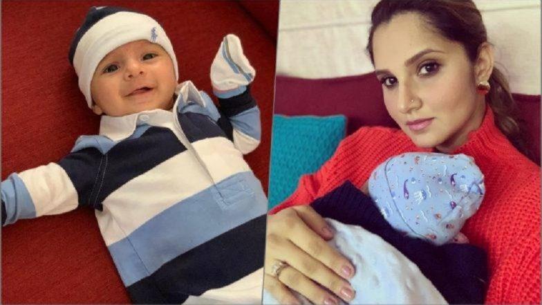 Sania Mirza च्या बाळाची पहिली झलक; सोशल मीडियावर शेअर केला फोटो