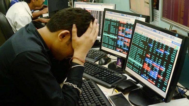 Sensex 500 अंकांनी गडगडला, Exit Poll सरकारच्या विरोधात गेल्याचा परिणाम