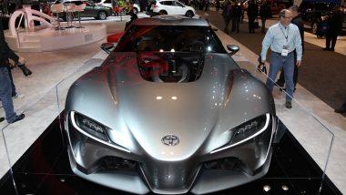 Toyota Supra या कारचा फर्स्ट लूक तुम्ही पाहिलात का?