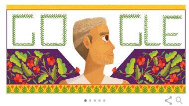 Google Doodle: कुष्ठरोग्यांसाठी आयुष्य वेचणाऱ्या बाबा आमटे यांच्या जयंतीनिमित्त गुगलची Doodle साकारत मानवंदना