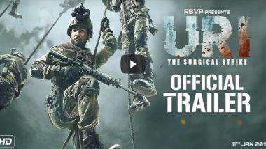 URI Trailer:  'नया हिन्दुस्तान घर में घुसेगा भी और मारेगा भी'