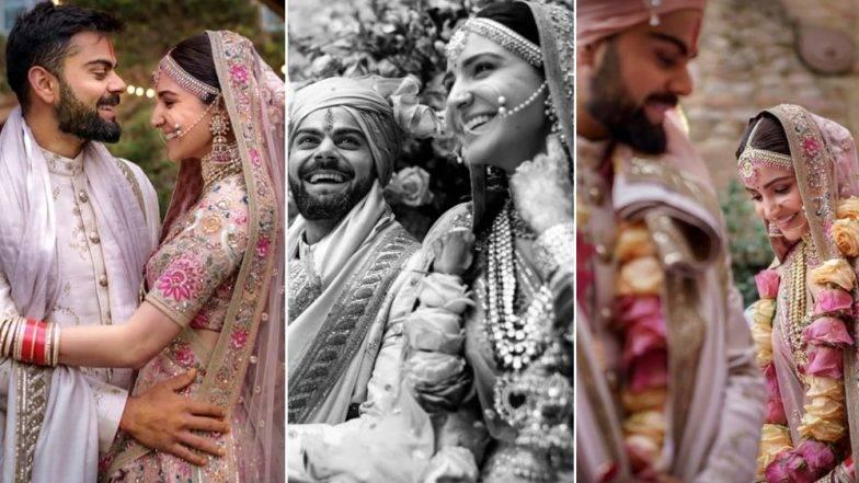 Virushka Wedding Anniversary: विराट कोहली, अनुष्का शर्माने शेअर केला खास व्हिडिओ (Video)