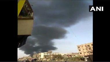 Bhiwandi Fire : भिवंडी येथील गोदामाला आग; अग्निशामकदलाच्या गाड्या घटनास्थळी दाखल