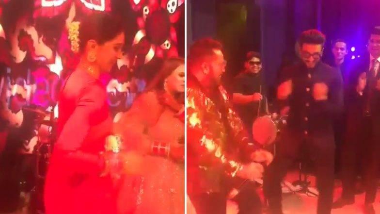 Kapil Sharma-Ginni Chatrath Reception Party: कपिल शर्माच्या रिसेप्शन पार्टीमध्ये DeepVeer चा 'आंख मारे' डान्स (Video)