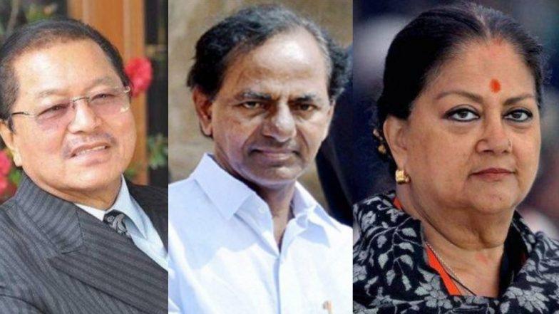 Assembly Elections Results 2018 : मध्य प्रदेश, राजस्थान, मिझोराम, छत्तीसगड, तेलंगणा  राज्यांच्या मुख्यमंत्र्यांचं काय झालं?
