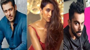 Forbes List of Richest Indians Celebrities 2018: यंदा 'या' सेलिब्रेटींनी केली बक्कळ कमाई; Salman Khan अव्वल स्थानी