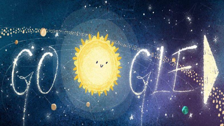 Geminid Meteor Shower 2018: आकाशात आज होणार उल्का वर्षाव, गुगलचे खास डुडल