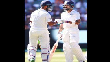 India Vs Australia 3rd Test : पहिल्या दिवसा अखेर भारताचा खेळ 215 धावांत 2 बाद